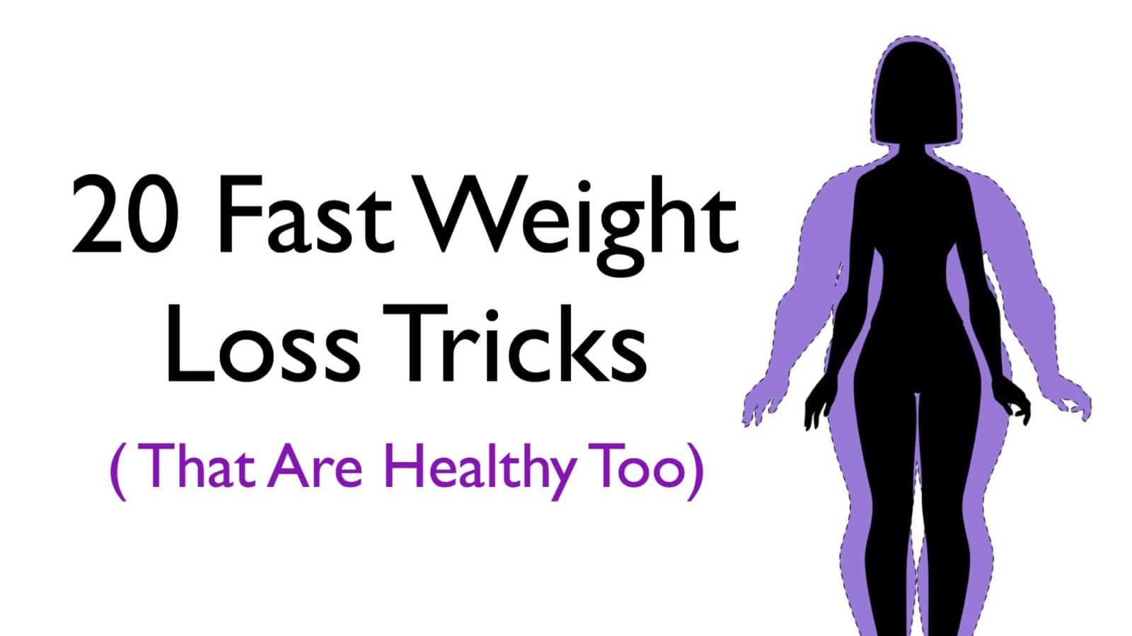 unhealthy rapid weight loss tricks