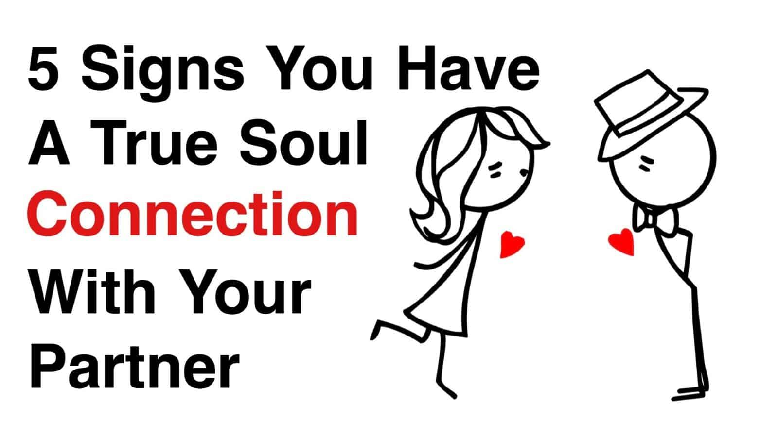 4 Signs You Have A True Soul Connection With Your Partner