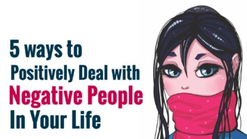 deal with negative people