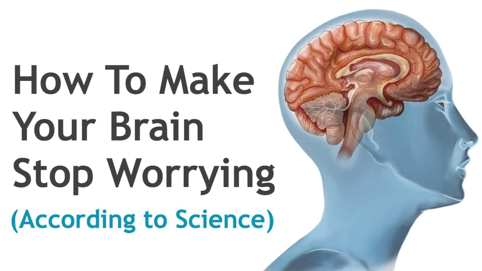 how to stop worrying Everybody worries from time to time, but ruminating on worries isn't healthy here are some ways to shift your thinking – a guide on how to stop worrying.