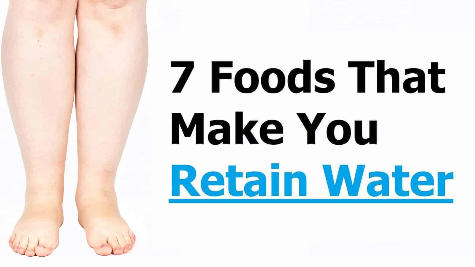 retain water