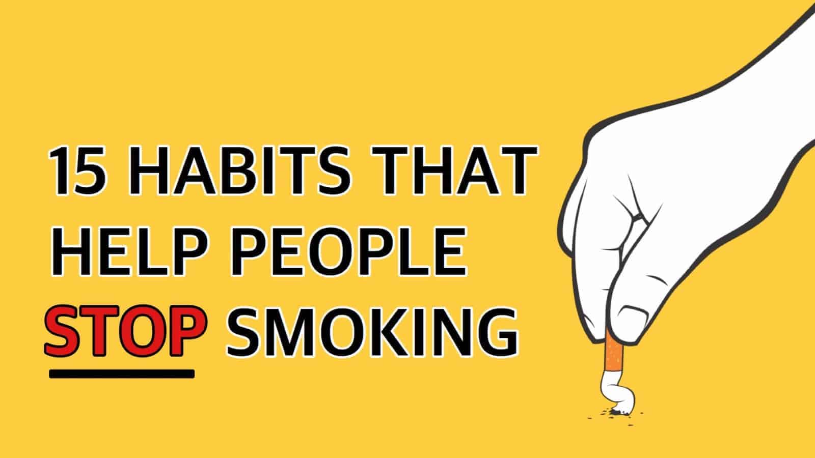 stop smoking How to stop smoking weed if you feel that marijuana is taking over your life and replacing all of your friends, hobbies, and favorite ways to pass the time, then it's time to quit smoking and get your life back on track.