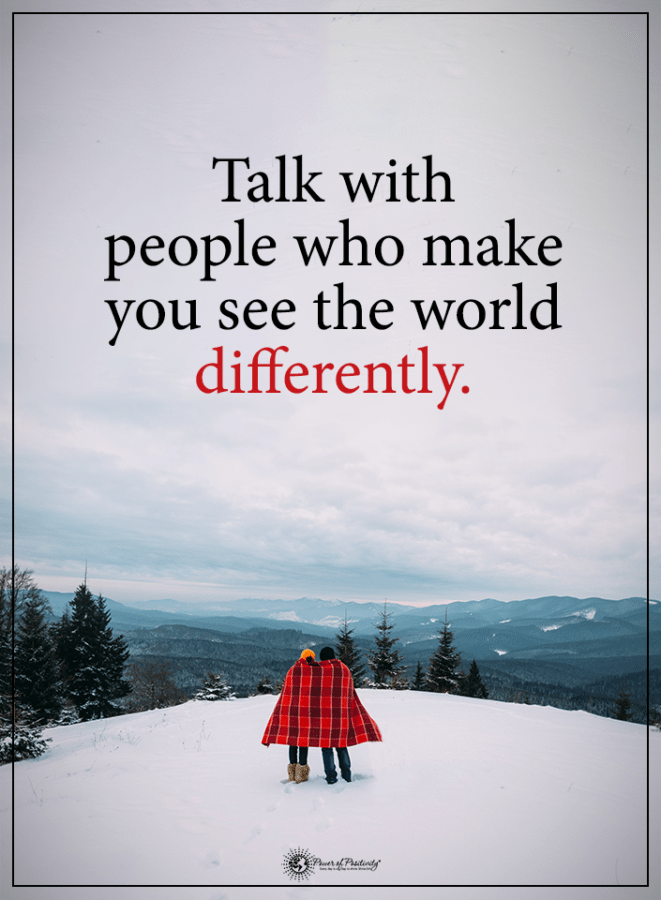 talk with people