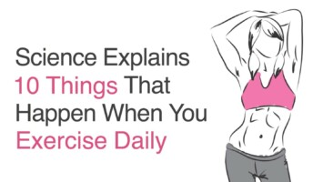 exercise daily