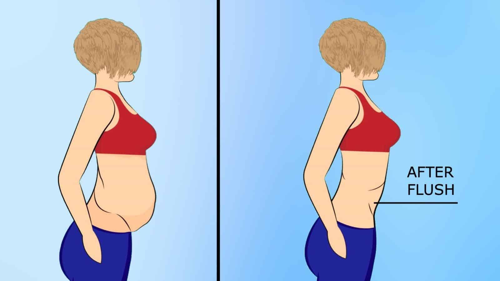 How To Flush Gas And Bloating From Your Stomach With Just Four Ingredients