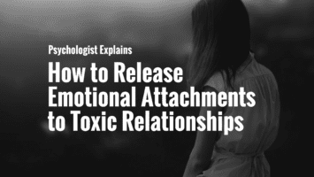 release emotional attachments