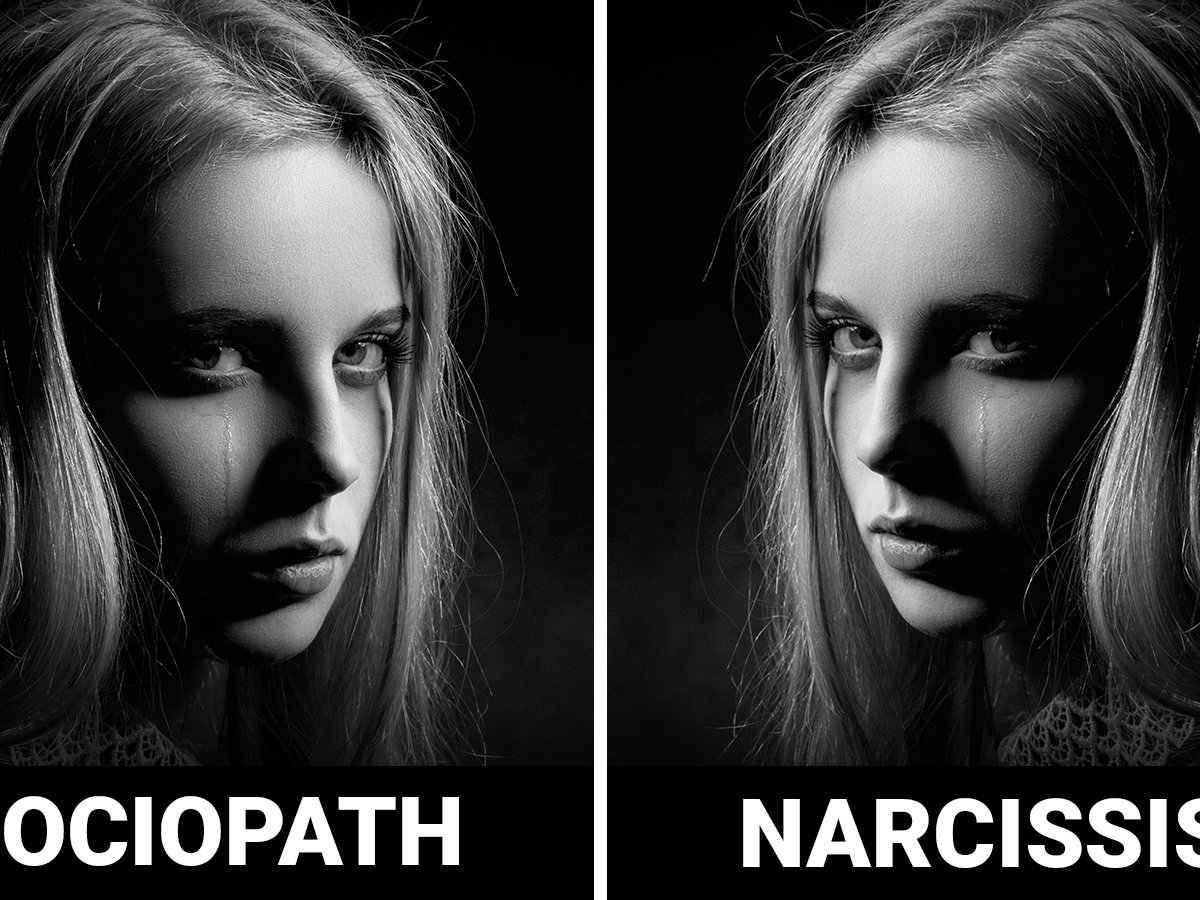 What is a narcissistic sociopath