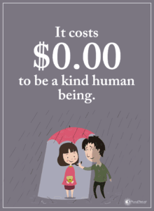 kindness quote - professor