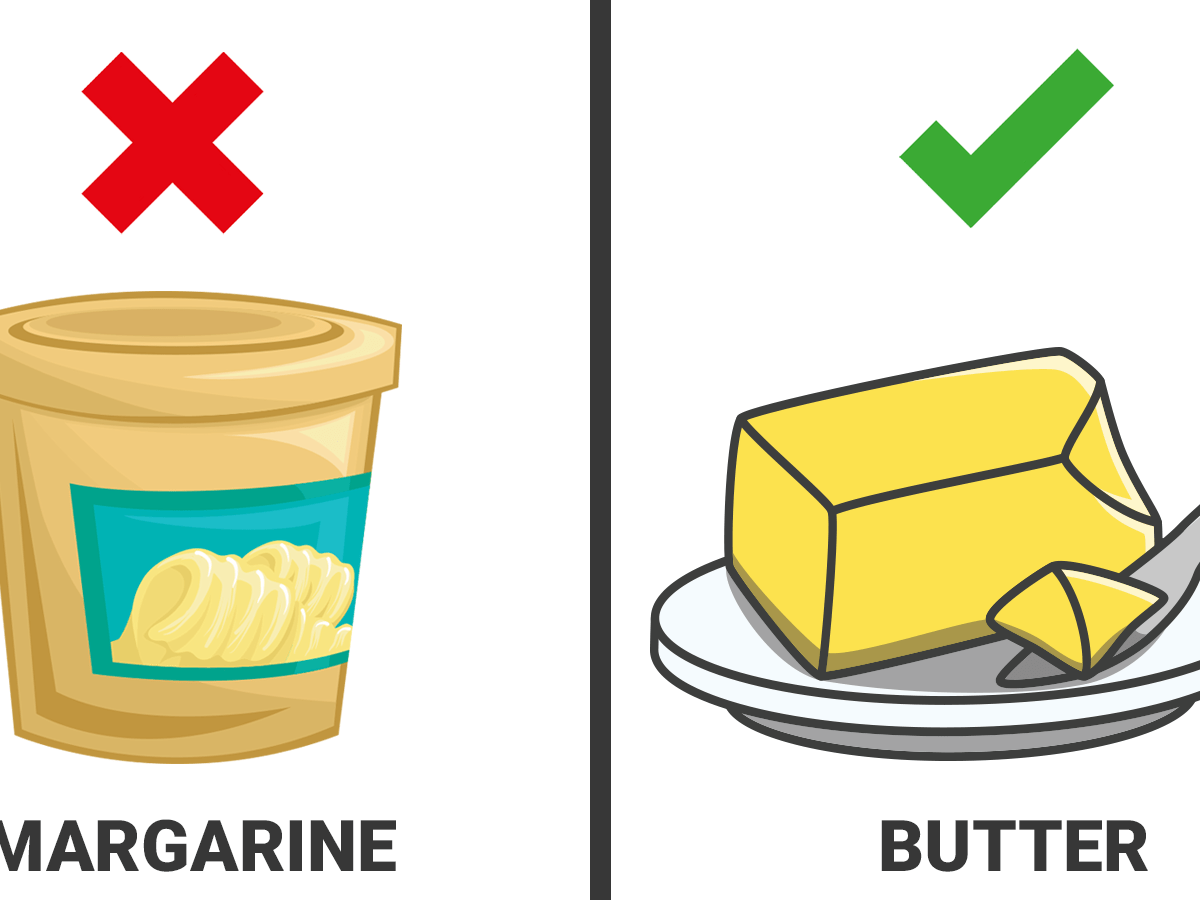 which is better for diet butter or margarine