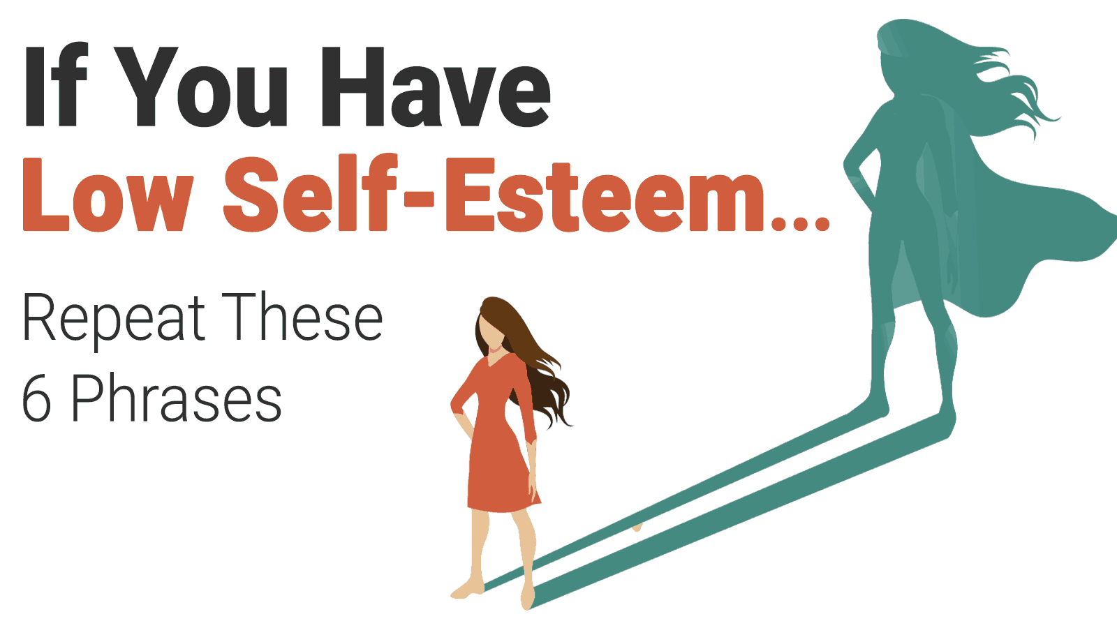 if you have low self esteem repeat these 6 phrases powerofpositivity
