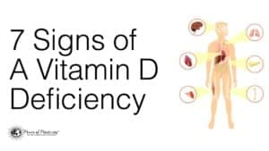 danger of low vitamin d