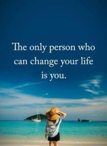 change life quote