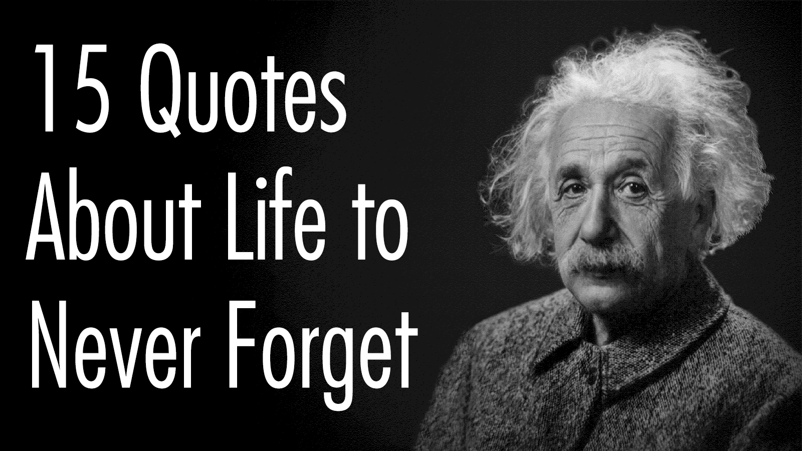 Quotes About 15 Quotes About Life to Never Forget Quotes About