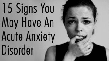 acute anxiety
