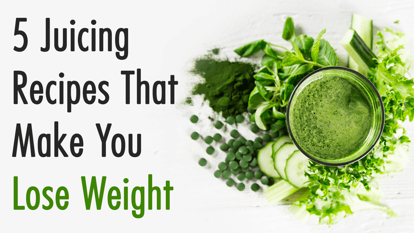 lose weight juicing recipes