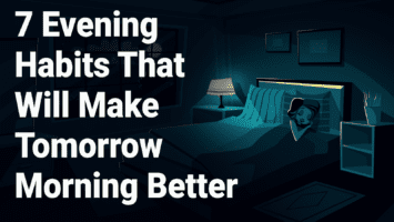 evening habits
