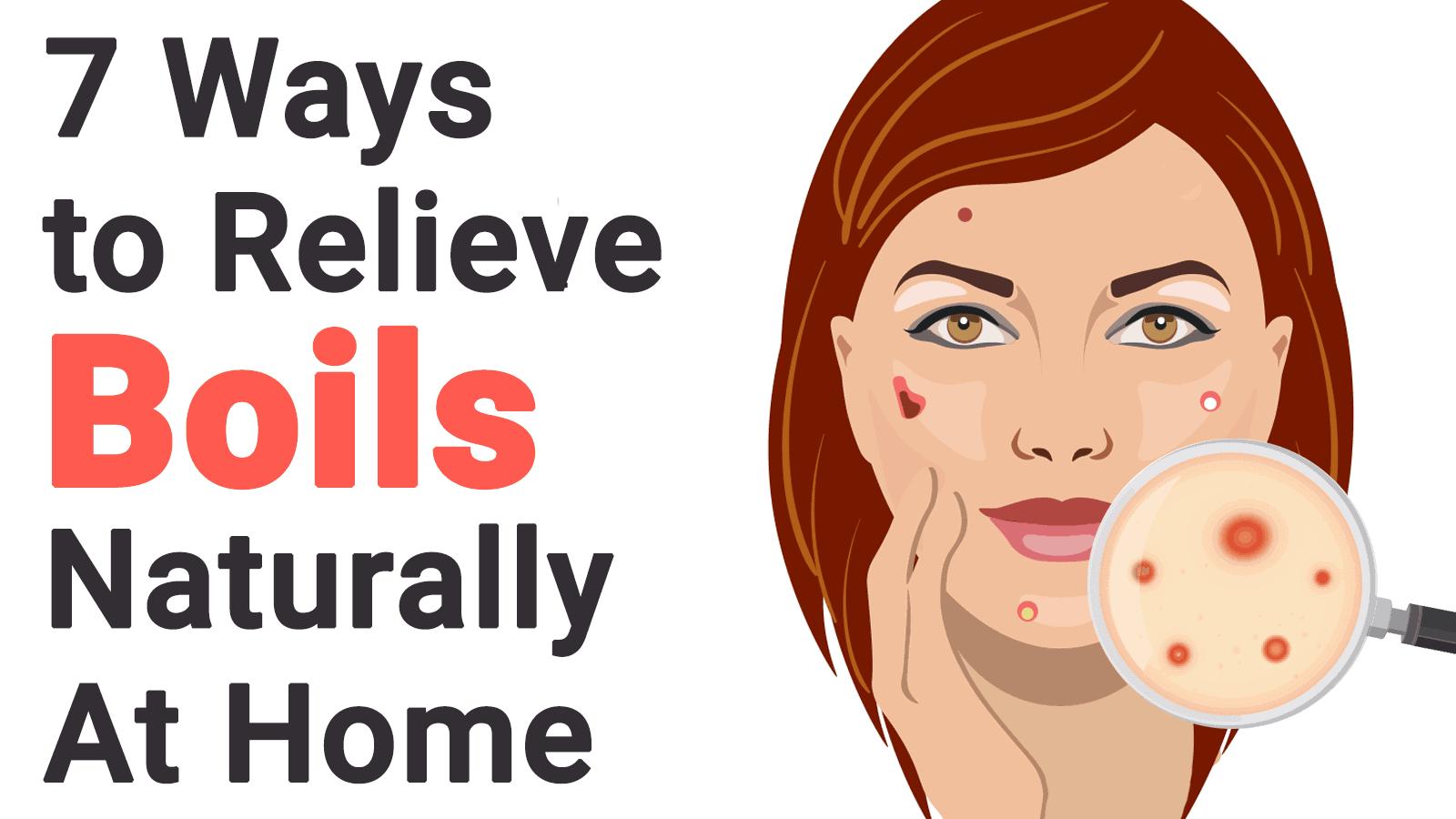 relieve boils