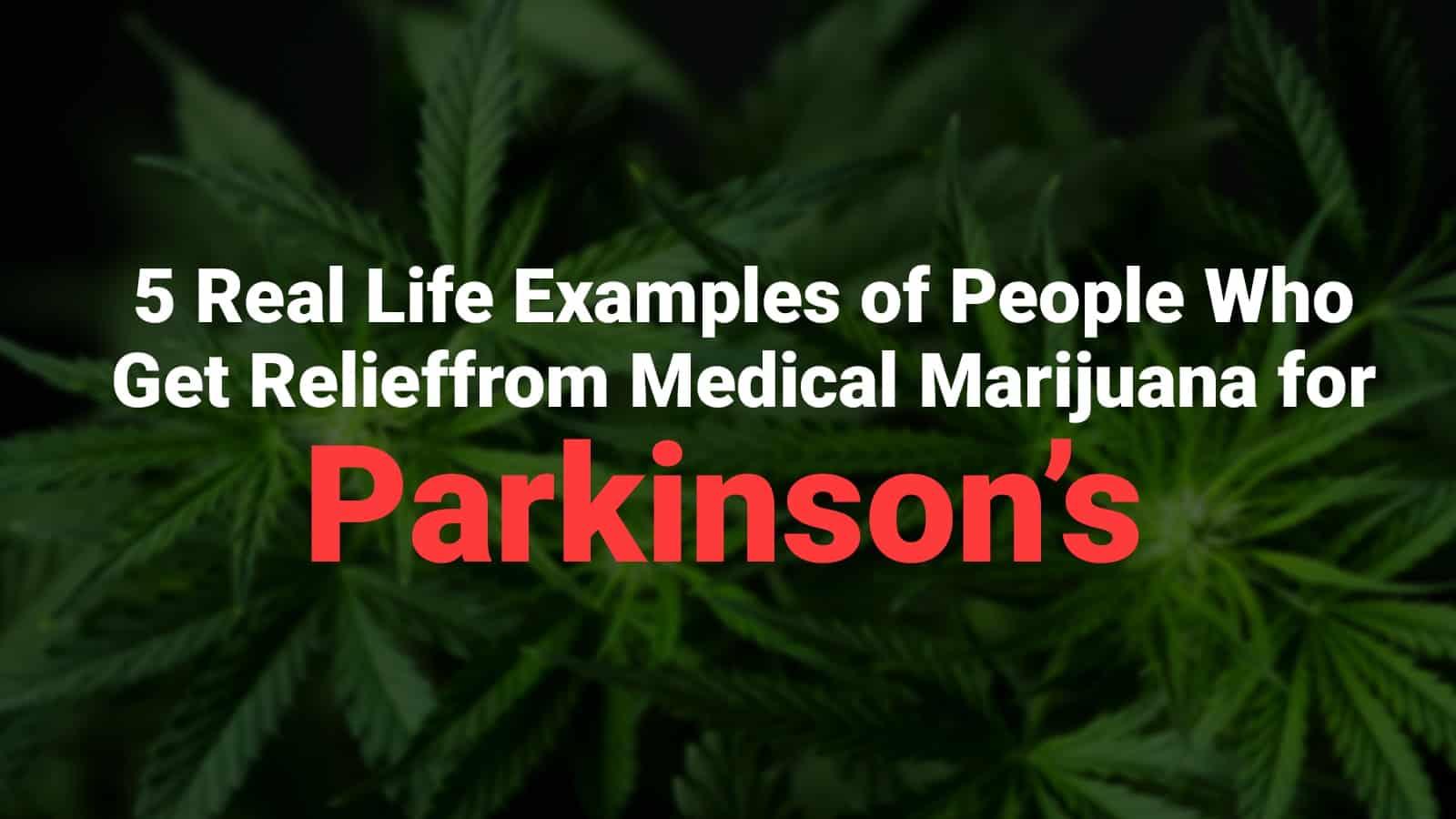 medical marijuana for parkinson's