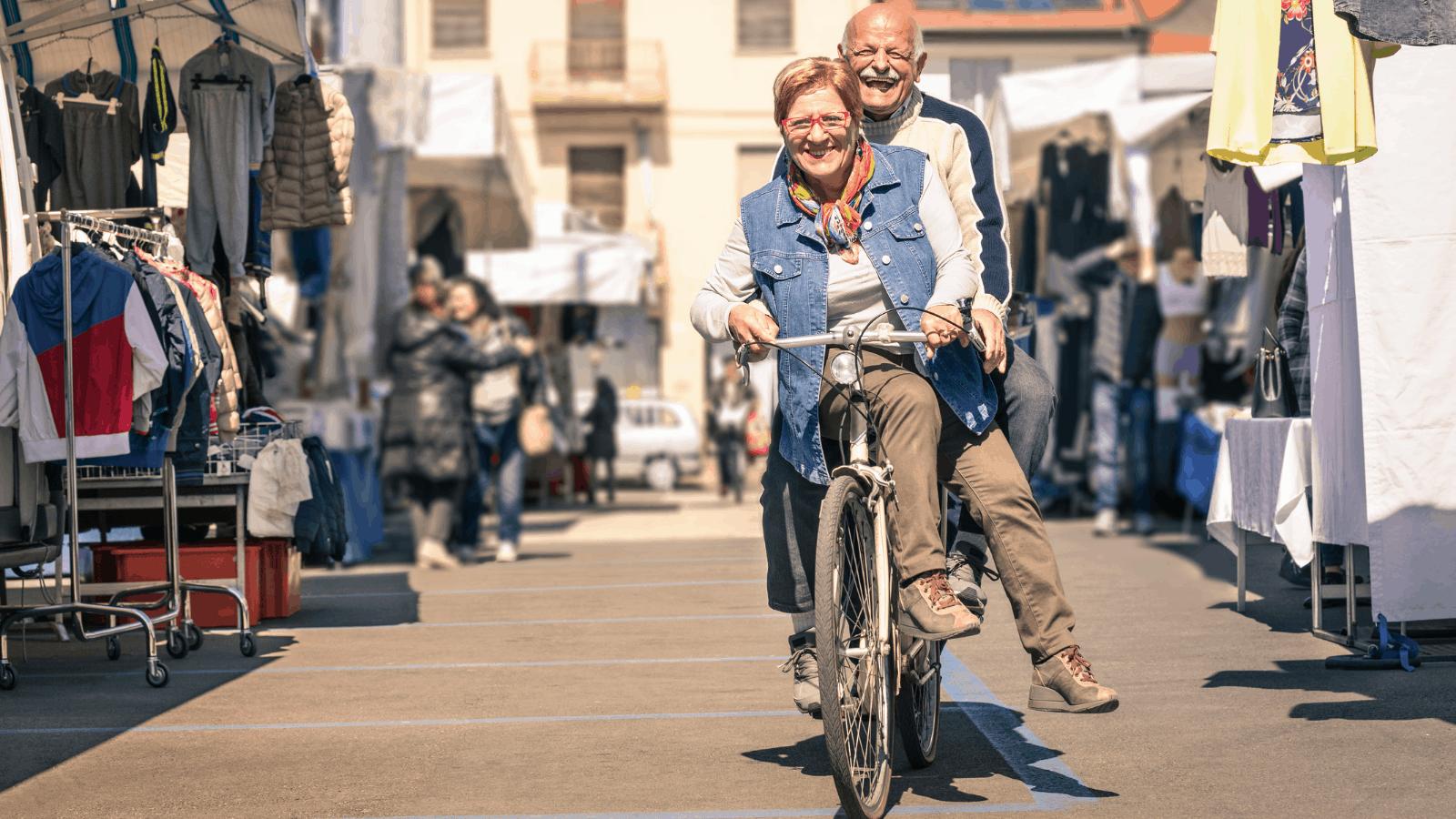 elderly couples
