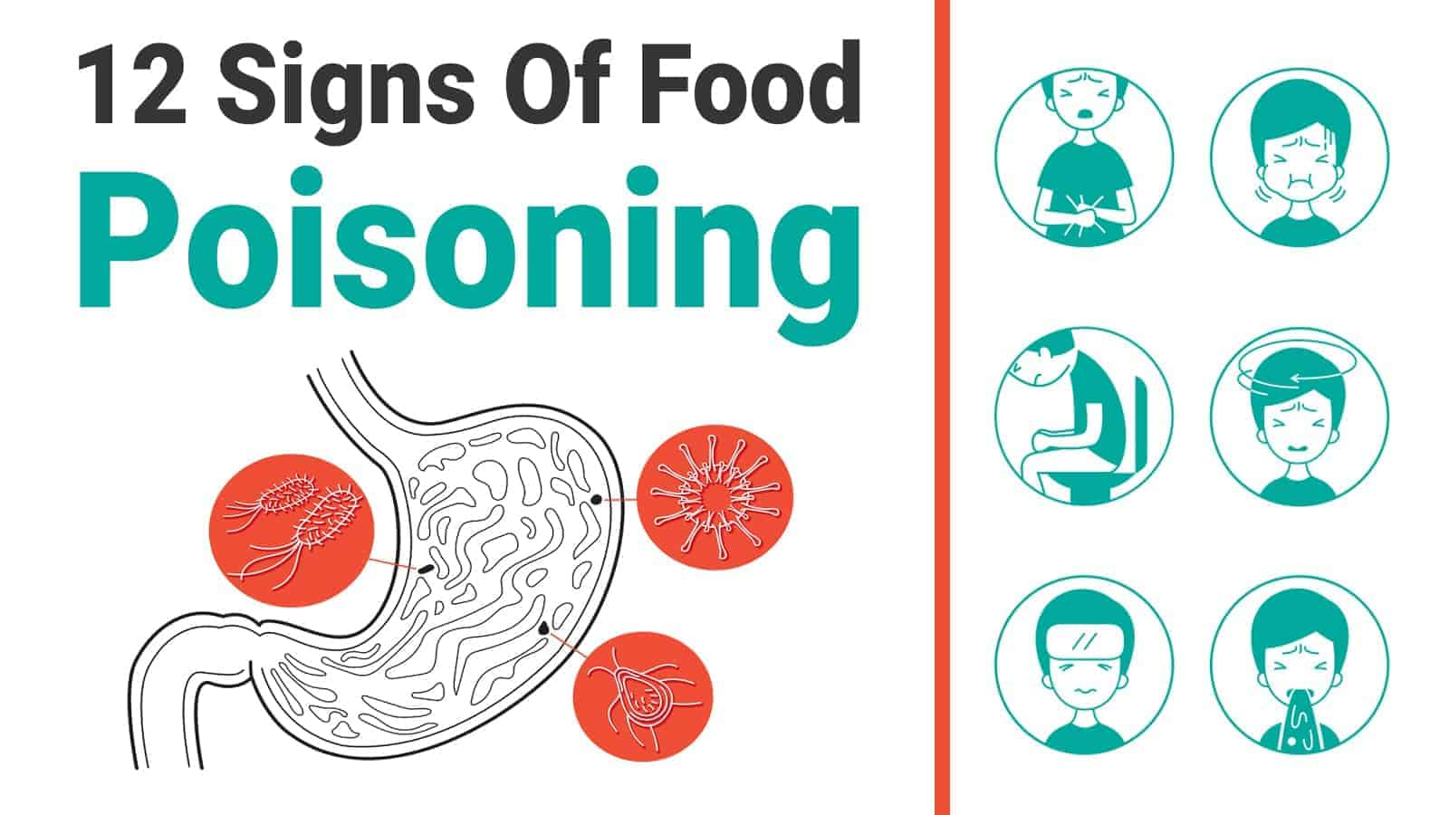 how to tell if food poisoning