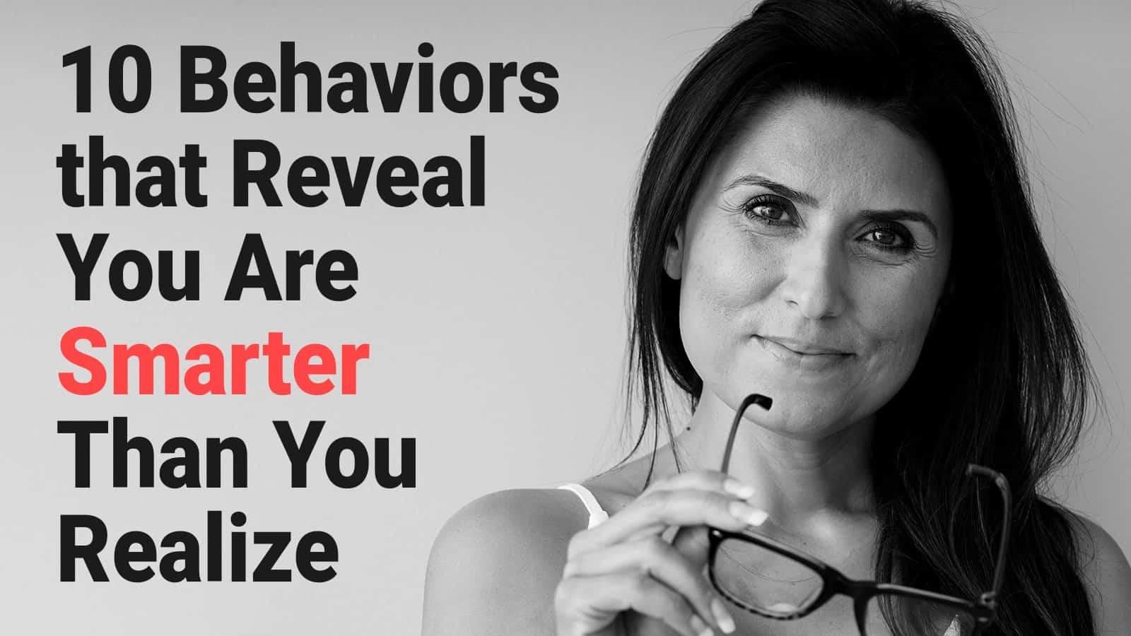 smart behaviors