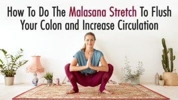 malasana stretch