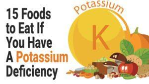 potassium deficiency - botox