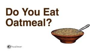 fiber rich foods - oats