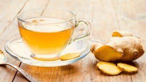 ginger tea to reduce heartburn