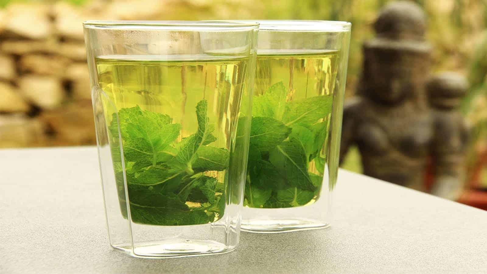 MAGIC Healing Peppermint Tea: Treat Cough, Sore Throat And More