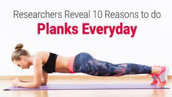 planks core strength