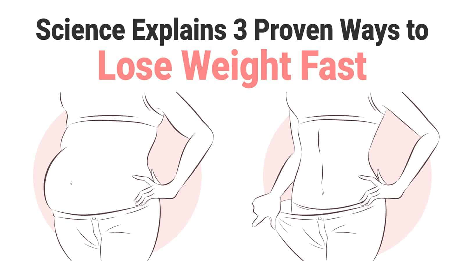 science proven ways to lose weight