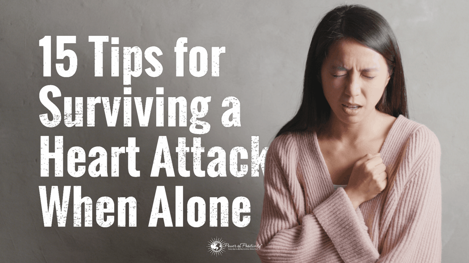 heart attack survival tips