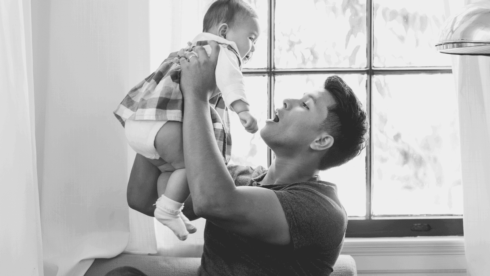 babies and dads