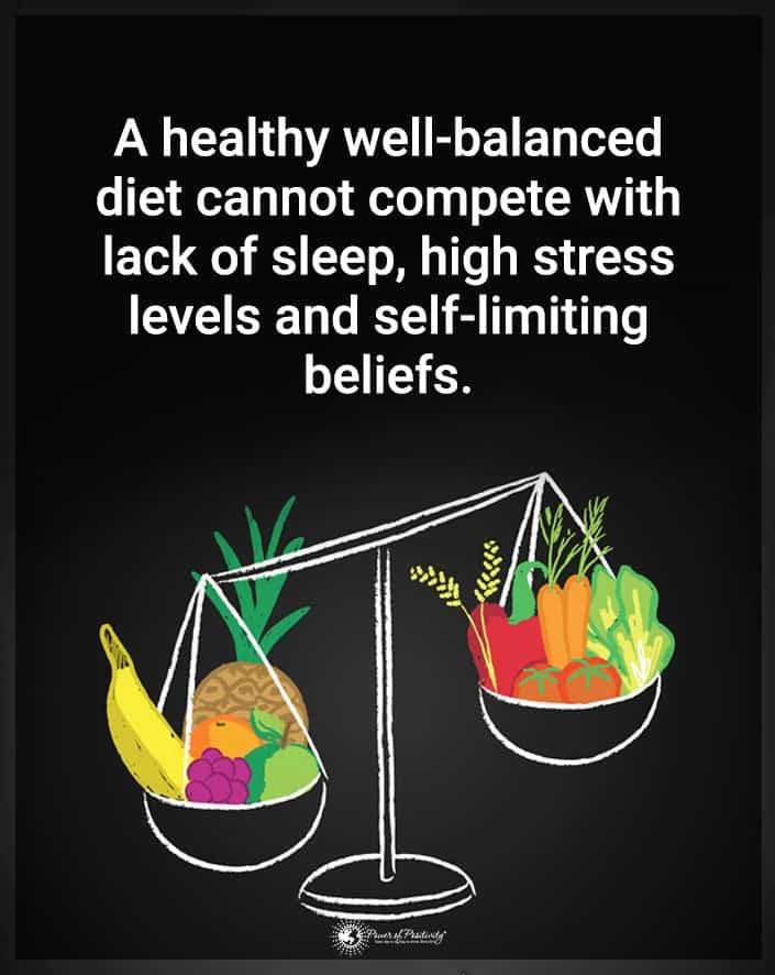 healthy well balanced