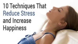 let go of stress to lose weight