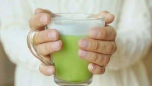 vegan foods - green tea