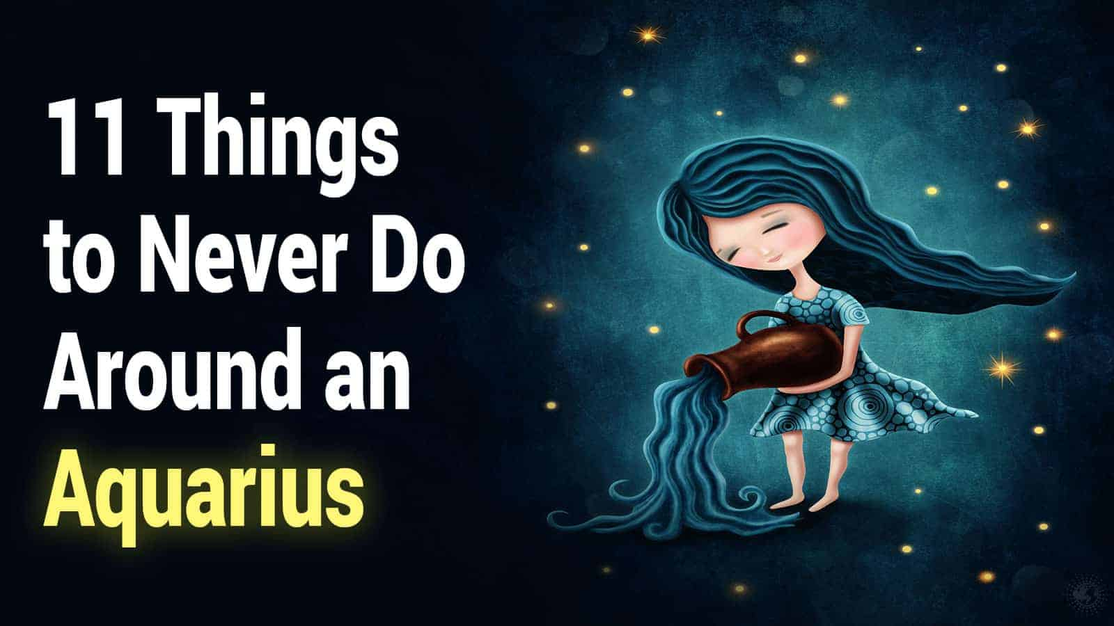 Things to know about aquarius