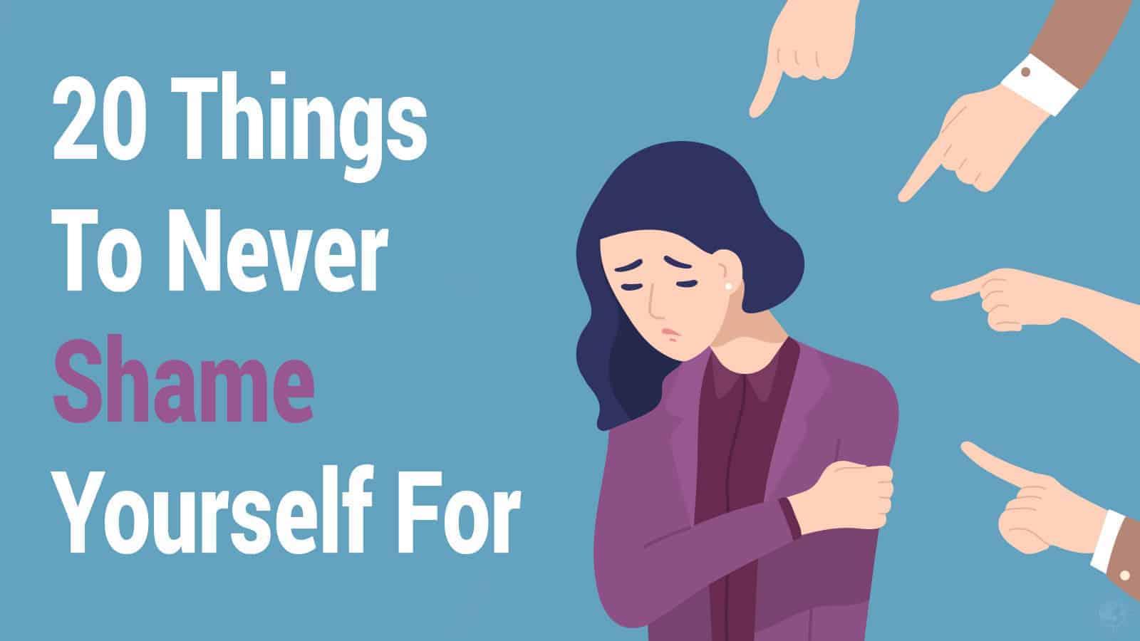 shame yourself