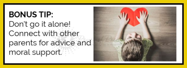 advice for parents bonus tip