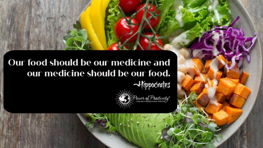 Hippocrates Quote Food