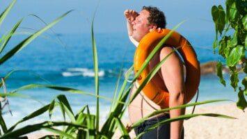irritated skin sunburn