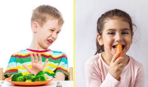 pickiest children