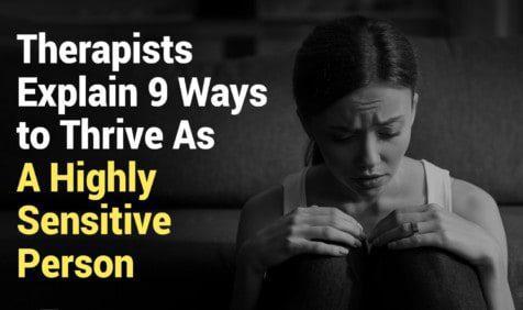 sensitive person