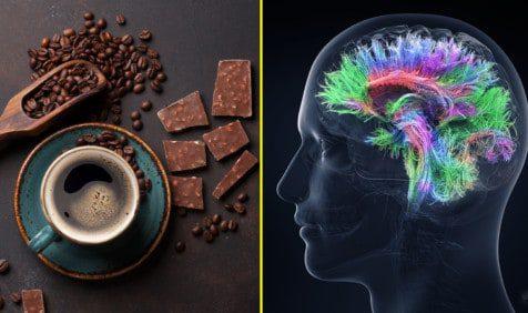 coffee chocolate increase intelligence