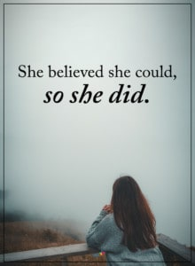 quote about self belief
