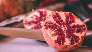 pomegranate serve up vitamin c