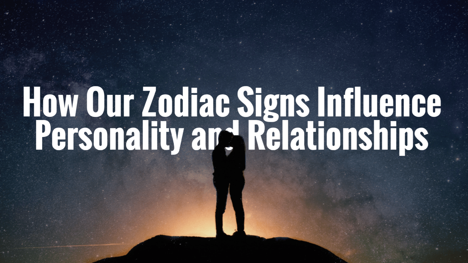 zodiac signs influence personality