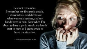 coping with the symptoms of anxiety attack
