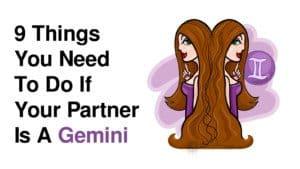 dating gemini man